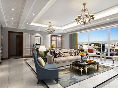 202平米的品质美式家,三代同堂才更有爱